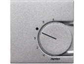MTN536260 SM Алюминий Накладка термостата комнатного (Мех.536400,536401)