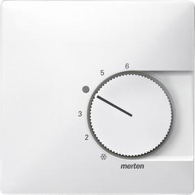 MTN537419 SD Бел Накладка термостата комнатного (Мех.536400,536401)