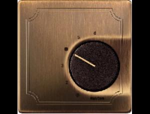MTN537443 SD Античная Латунь Накладка термостата комнатного (Мех.536400,536401)