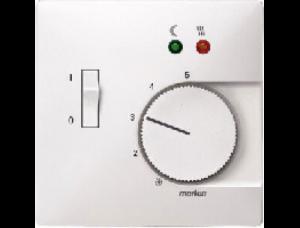 MTN537519 SD Бел Накладка регулятора тёплого пола (термопласт)