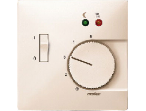 MTN537544 SD Беж Накладка регулятора тёплого пола (термопласт)