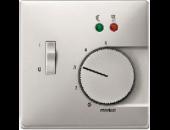 MTN537546 SD Сталь Накладка регулятора тёплого пола