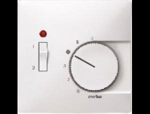 MTN539719 SD Бел Накладка термостата комнатного (Мех.536302,536304) (термопласт)