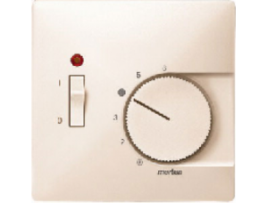 MTN539744 SD Беж Накладка термостата комнатного (Мех.536302,536304) (термопласт)