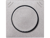 MTN567760 SM Алюминий Накладка светорегулятора поворотно-нажимного многофункц. с/п, мех 577099