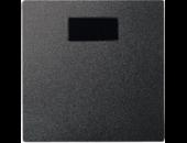 MTN570314 SM Антрацит Накладка светорегулятора/выключателя нажимного с ДУ