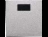 MTN570360 SM Алюминий Накладка светорегулятора-выключателя нажимного с ДУ