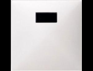 MTN570919 SD Бел Накладка светрегулятора/выключателя нажимного с ДУ (термопласт)