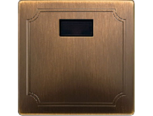 MTN570943 SD Античная латунь Накладка светорегулятора/выключателя нажимного с ДУ