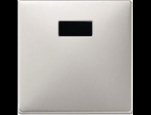 MTN570946 SD Сталь Накладка светрегулятора/выключателя нажимного с ДУ