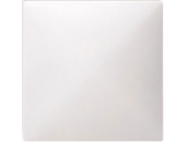 MTN573719 SD Бел Накладка светрегулятора/выключателя нажимного (термопласт)