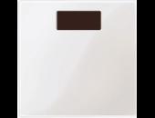 MTN577919 SM Бел глянц Накладка светорегулятора-выключателя нажимного с ДУ