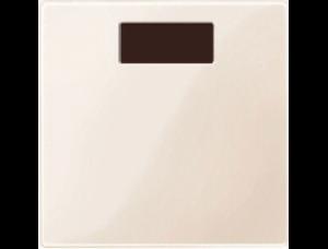 MTN577944 SM Беж глянц Накладка светорегулятора-выключателя нажимного с ДУ