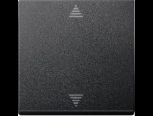MTN586214 SM Антрацит Накладка электронного кнопочного выключателя жалюзи