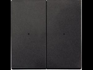 MTN625214 SM Антрацит Накладка светорегулятора 2-х канального нажимного (исп с мех 568499+568099)