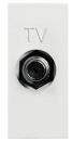 N2150 AN NIE Zenit Антрацит Розетка TV единственная, F-разъем, 1 мод