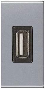 N2185 CV NIE Zenit Шампань Механизм USB зарядного устройства, 1М, 750 мА
