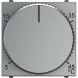 N2240.3 PL NIE Zenit Серебро Механизм терморегулятора для ТП с выносным датчиком температуры, 10А/250В