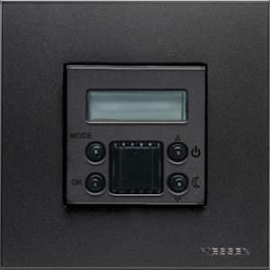 N2240.5 CV NIE Zenit Шампань Накладка электронного термостата 8140.5, 2 мод