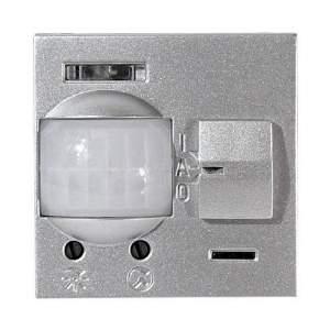 N2241 PL NIE Zenit Серебро Датчик движения ИК (реле) 3-х пров.схема подключения 2 мод