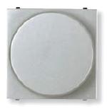 N2260.9 PL NIE Zenit Серебро Светорегулятор поворотный для люминисцентных ламп 1-10В, 700W, 2 мод