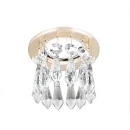 Светильник Gauss Brilliance PT004, Кристал/Золото, Gu5.3 1/30