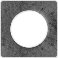 S52P802U Рамка 1 пост морской камень ODACE
