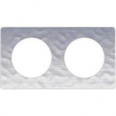 S52P804K Рамка 2 пост алюм мартель ODACE