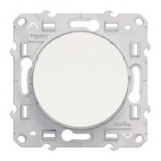 S52R205 Переключатель проходной бел ODACE