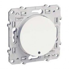 S52R263 Переключатель с LED бел ODACE