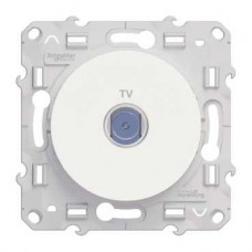 S52R445 ТВ розетка бел ODACE