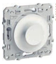S52R518 Светорегулятор поворотный 9-100ВА бел