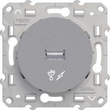 S53R408 USB розетка ал ODACE