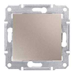SDN0100368 Выключатель IP44 титан  купить в Москве, цена в России: опт, розница | smartipad.ru