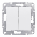 SDN0300121 Выкл. 2кл. cx.5, бел.