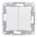 SDN0300421 Перек-ль 2-х клав. IP44 бел.