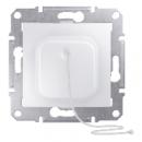 SDN1200121 Кнопка с шнур., бел.