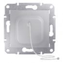 SDN1200160 Кнопка с шнур., алюм.