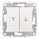 SDN1300147 Выкл. д/жалюзи эл.блок, беж.