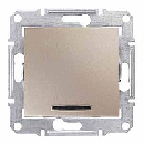 SDN1600168 Кноп.выкл. с подсв., титан