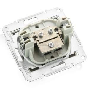 SDN3201268 TV коннектор проходной, титан  купить в Москве, цена в России: опт, розница | smartipad.ru