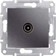 SDN3201270 TV коннектор проходной, графит  купить в Москве, цена в России: опт, розница | smartipad.ru