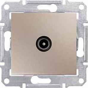 SDN3201668 TV коннектор оконечный, титан  купить в Москве, цена в России: опт, розница | smartipad.ru