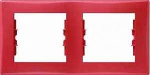 SDN5800341 Рамка 2-пост, красная  купить в Москве, цена в России: опт, розница   smartipad.ru