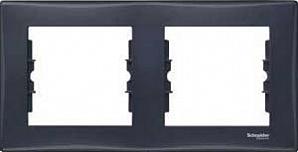 SDN5800370 Рамка х2 горизонт., графит  купить в Москве, цена в России: опт, розница | smartipad.ru