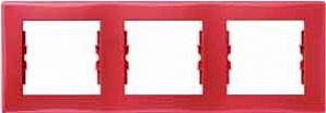 SDN5800541 Рамка 3-пост, красная  купить в Москве, цена в России: опт, розница   smartipad.ru