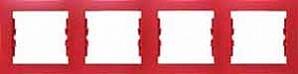 SDN5800741 Рамка 4-пост, красная  купить в Москве, цена в России: опт, розница | smartipad.ru
