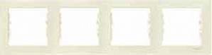 SDN5800747 Рамка х4 горизонт., беж.  купить в Москве, цена в России: опт, розница | smartipad.ru