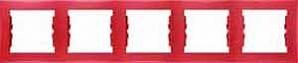 SDN5800941 Рамка 5-пост, красная  купить в Москве, цена в России: опт, розница   smartipad.ru