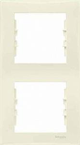 SDN5801147 Рамка х2 вертик., беж.  купить в Москве, цена в России: опт, розница | smartipad.ru